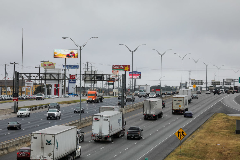 I-35 N at 1604