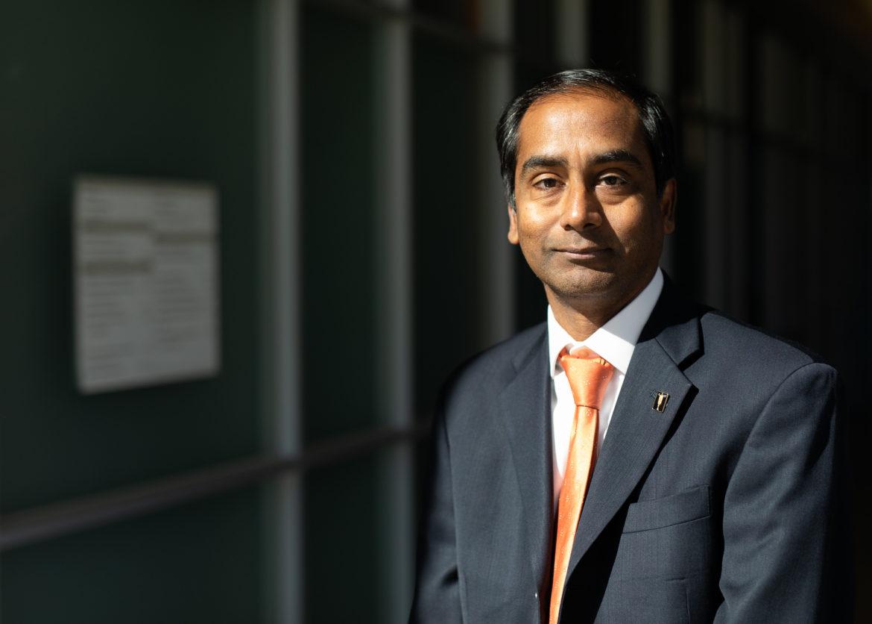 UTSA's Interim Vice President for Research, Economic Development, and Knowledge Enterprise Bernard Arulanandam.