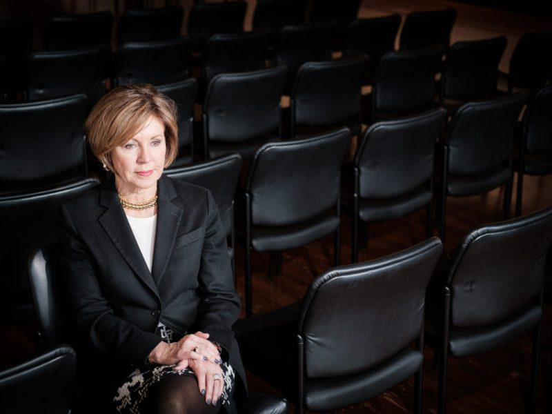 Outgoing City Manager Sheryl Sculley