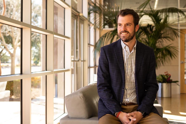 Will Garrett, Vice President and Director of Cybersecurity Development at Port San Antonio.