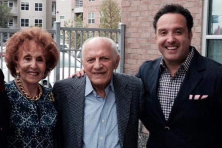 (From left) Irma Nicolas, Emilio Nicolas Sr., and Guillermo Nicolas. On Tuesday, TPR and Guillermo Nicolas will announce a naming-rights gift to the public radio station and introduce the community to the Emilio and Irma Nicolas Media Center, which will be housed in the nonhistoric space of the Alameda.