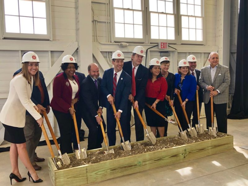 Brooks is breaking ground on a 290,000-square-foot facility for Cuisine Solutions that will create 500 jobs locally.