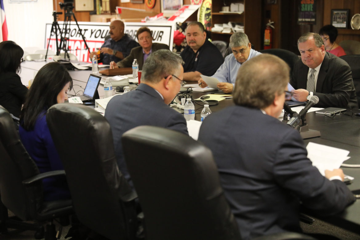 The City of San Antonio met with the Professional Firefighters Association for the first time since 2017.