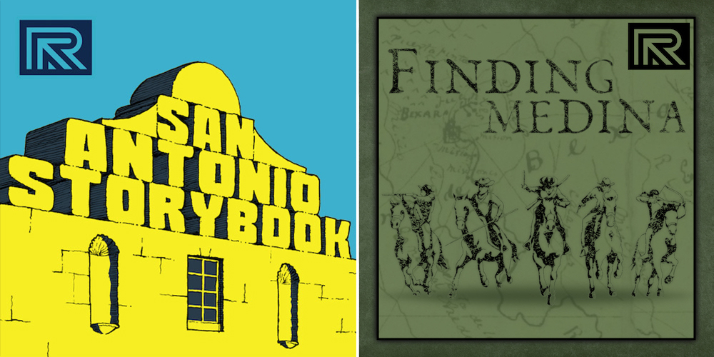 Podcasts San Antonio Storybook and Finding Medina are available anywhere you get your podcasts.