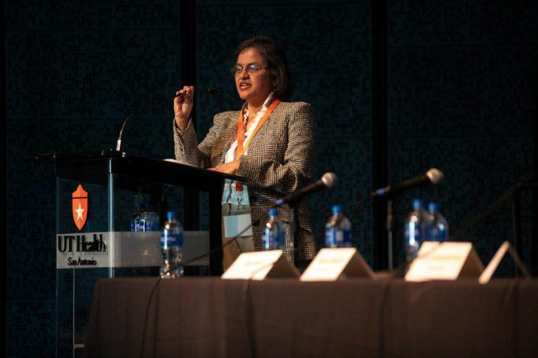 Director of the Glenn Biggs Institute for Alzheimer's and Neurodegenerative Diseases Dr. Sudha Seshadri