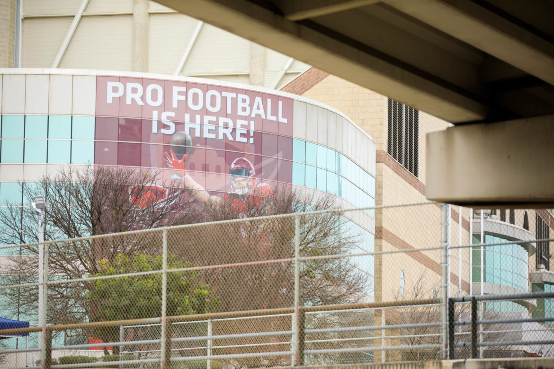 The San Antonio Commanders season opener is Saturday, February 9th.