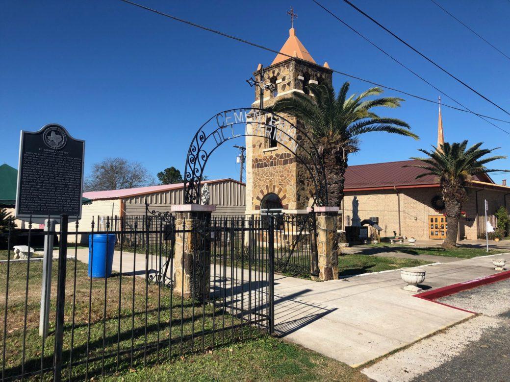 El Carmen Church in Losoya Texas. ,