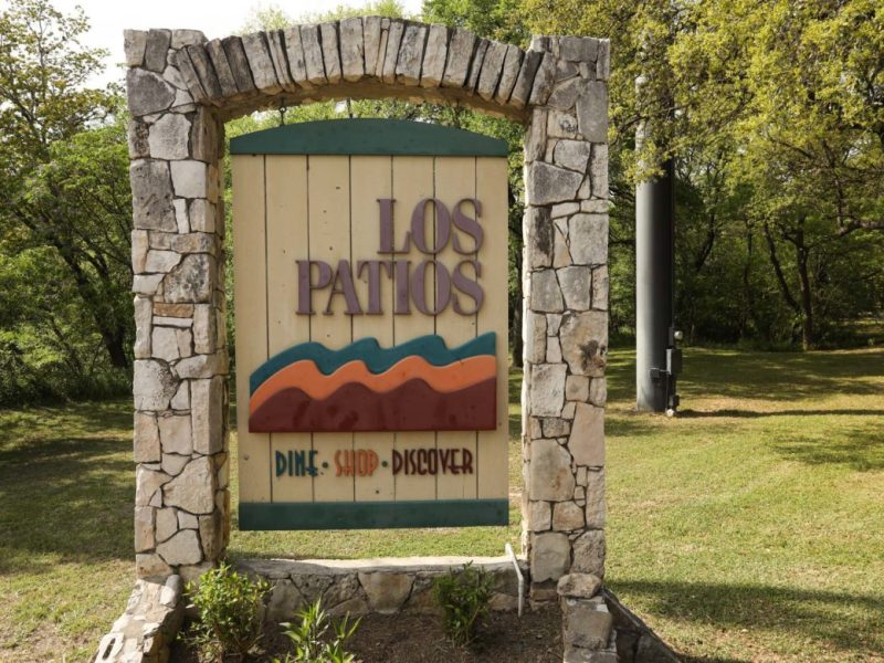 The Los Patios property. Photos taken on Mar. 28, 2019.