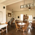The community kitchen at the Meyer Bed & Breakfast.