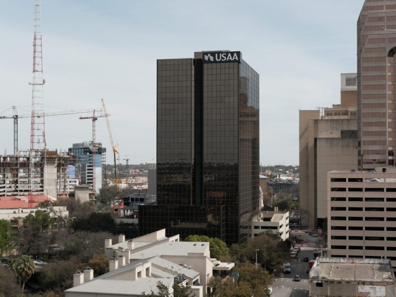 The USAA downtown offices