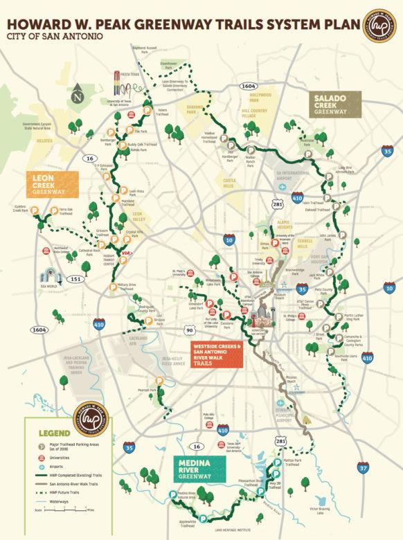 The Howard Peak Greenway Trail plan