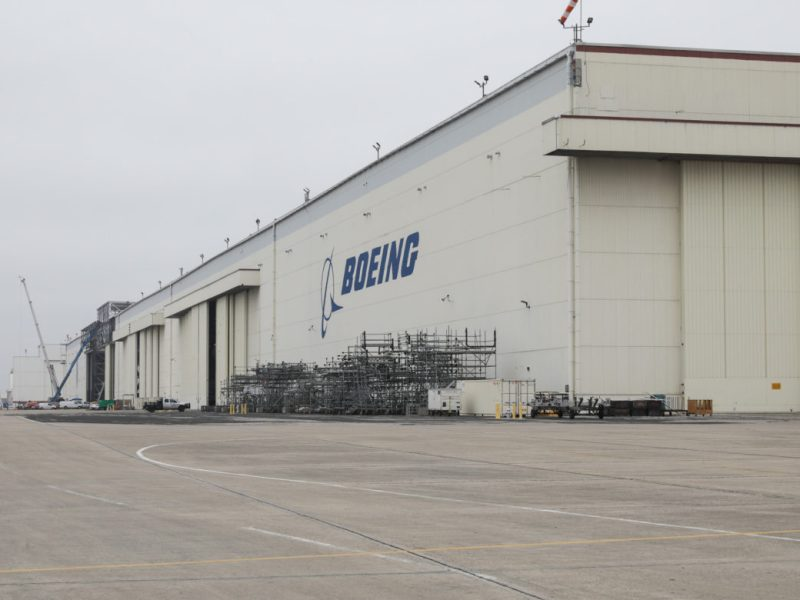 The Boeing facility at PortSA will be used to house grounded Boeing 737 Max jetliners.