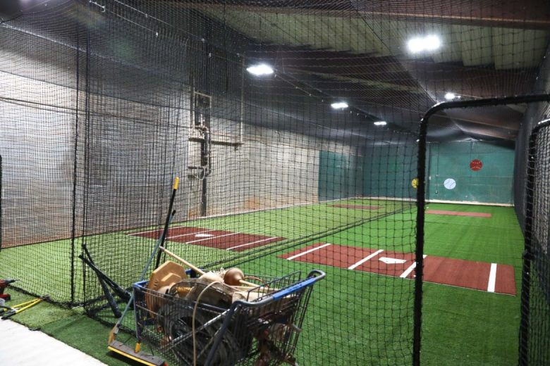 Updated batting cages are included with the improvements for players and coaches at Nelson W. Wolff Municipal Stadium.