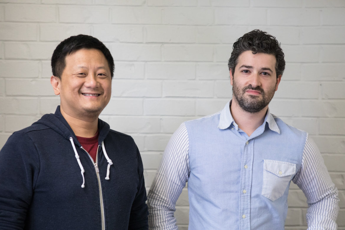 (From left) Cliently CTO Huey Ly and Cliently CEO and Founder Spencer Farber.