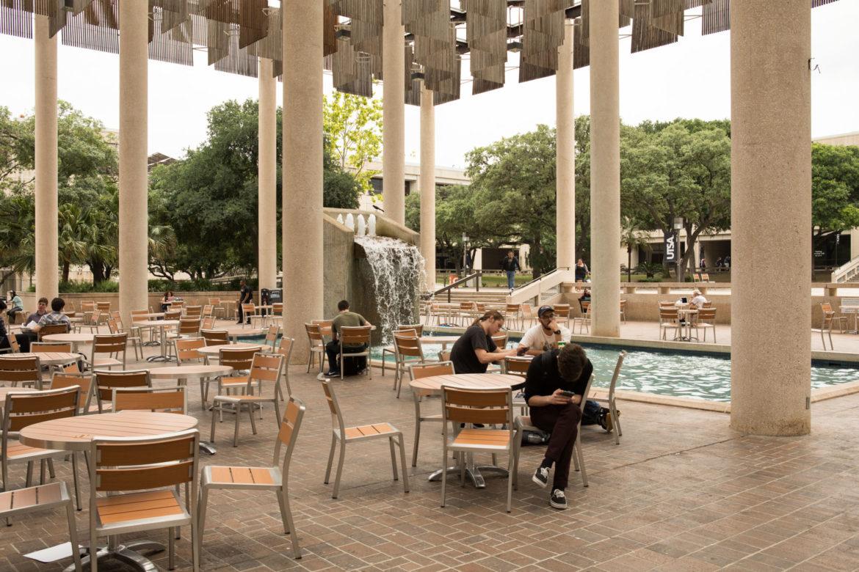 UTSA's main campus.