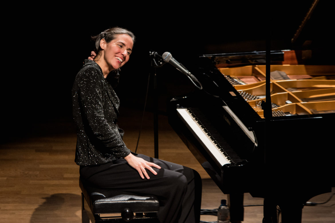 Clarice Assad will be performing in the Ruth Taylor Recital Hall at Trinity University on Tuesday night.