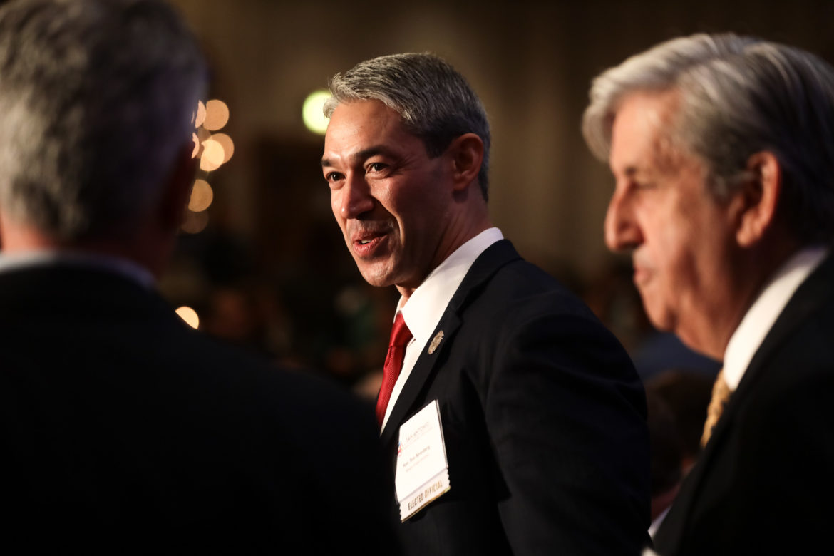 Mayor Ron Nirenberg has out raised opponent Greg Brockhouse in campaign contributions leading up to election day on Saturday May 4th.