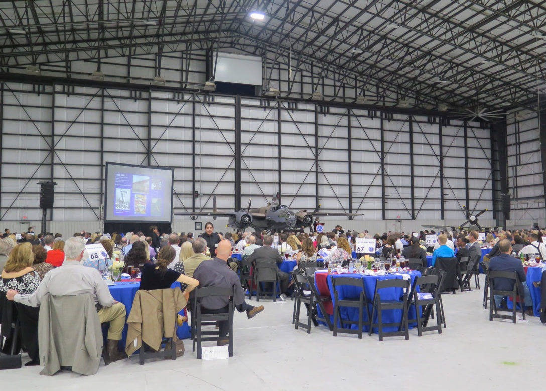 The Dee Howard Foundation recognized members inducted into the Aviation Hall of Fame along with local educators promoting STEM learning.