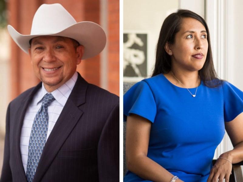 (From left) Johnny Arredondo and Adriana Rocha Garcia