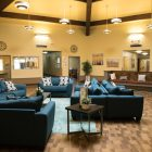 The common room in My Mariposa Home.