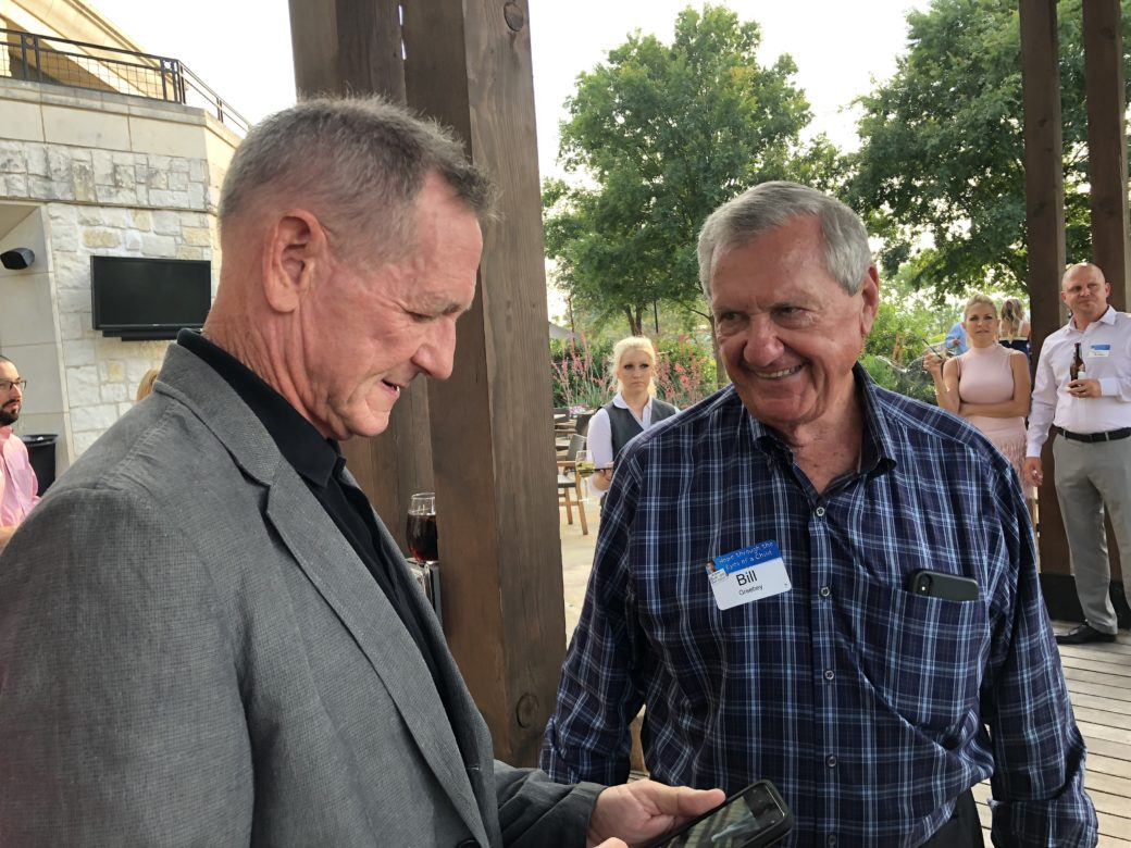 Bill Greehy with Hank Haney