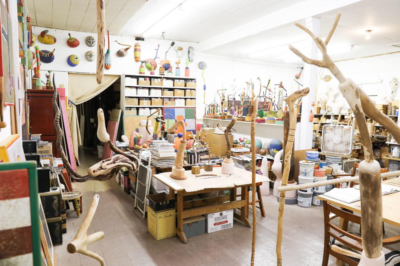 Danville Chadbourne's studio