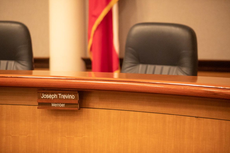 The seat of District 3 representative Joseph Trevino.