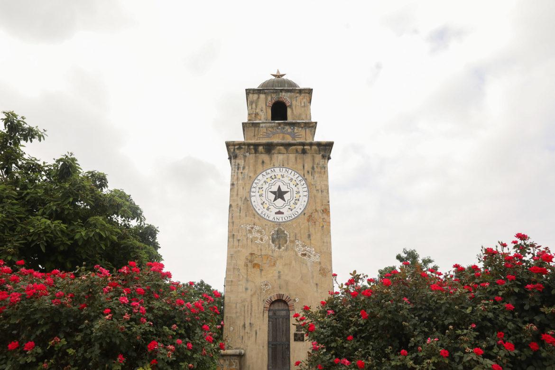 The entrance to Texas A&M University - San Antonio.