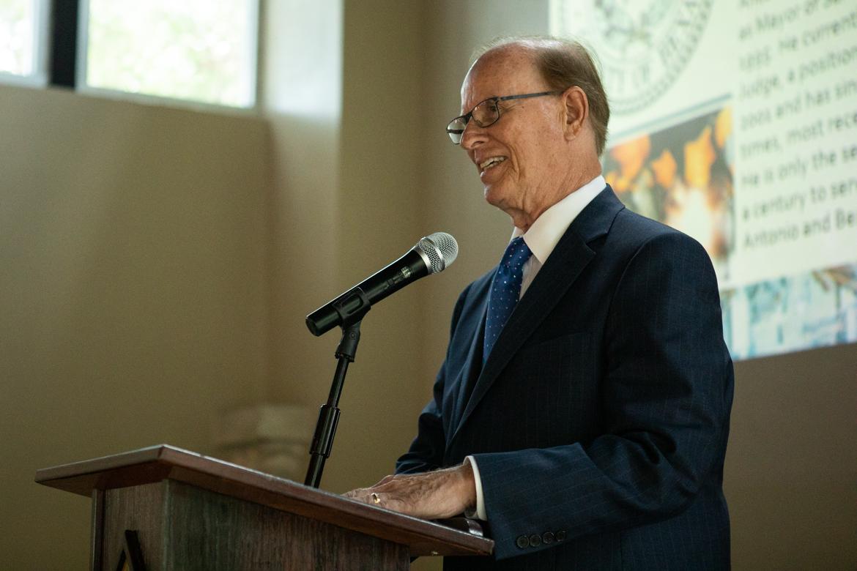 Bexar County Judge Nelson Wolff.