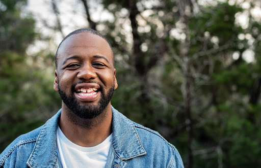 Alexander Bailey, manager at Teach For America San Antonio and founder of Black Outside