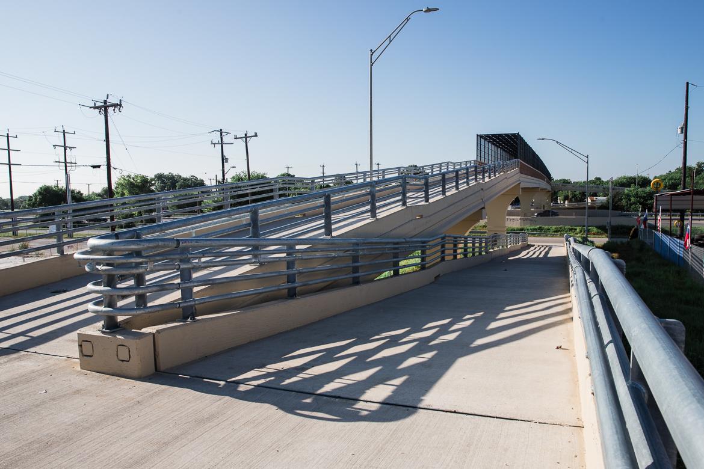 Highway 90 pedestrian bridge