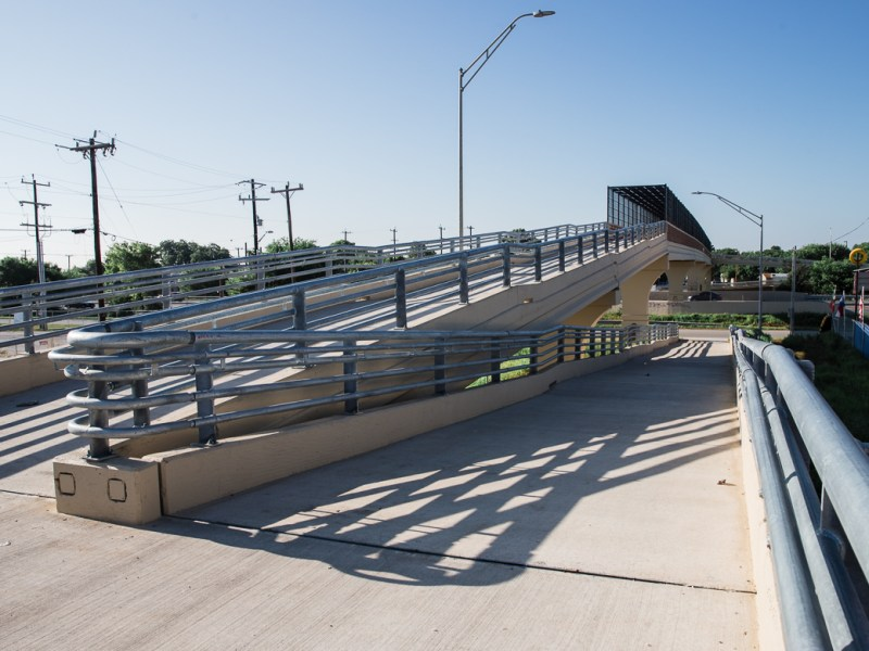 Highway 90 pedestrian bridge