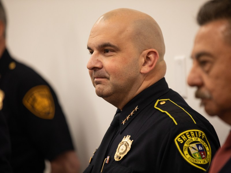 Bexar County Sheriff Javier Salazar selects a jail consultant before County Commissioners could approve a different independent consultant.