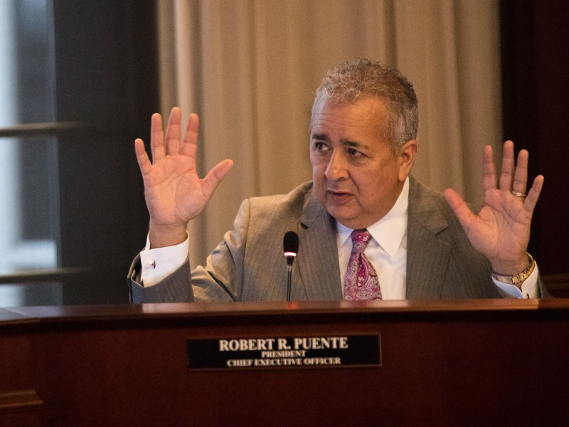 San Antonio Water System President and CEO Robert Puente.