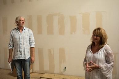 (From left) Brad and Miriam Jones.