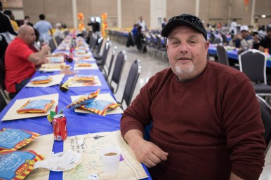 Mitchel Schwartz has attended the dinner for the past five years.