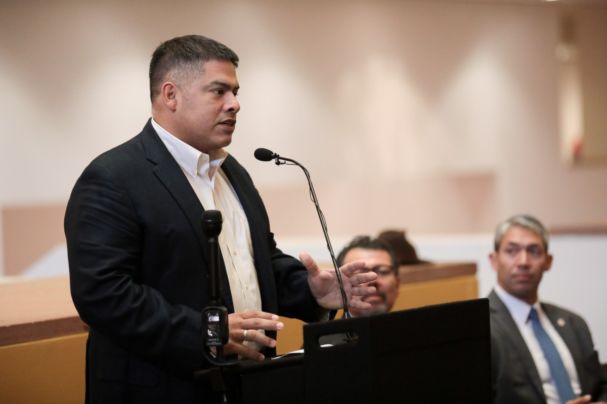 Amid rising deaths stemming from domestic violence, Councilman Manny Pelaez (D8) sought increased funding to violence prevention in 2019.