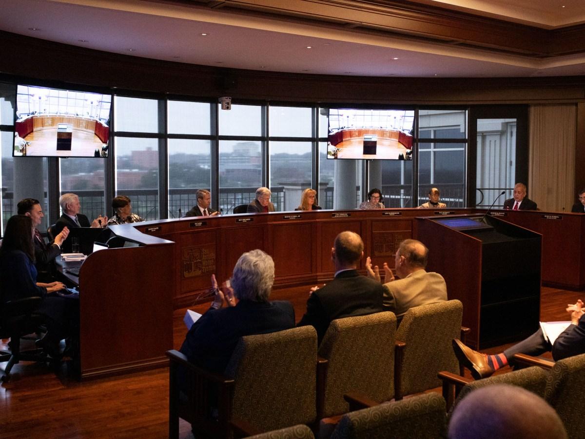 The San Antonio Water System Board of Trustees nominates Port San Antonio board member, Marilu Reyna to represent the southeast quadrant of the San Antonio Water System's service territory.