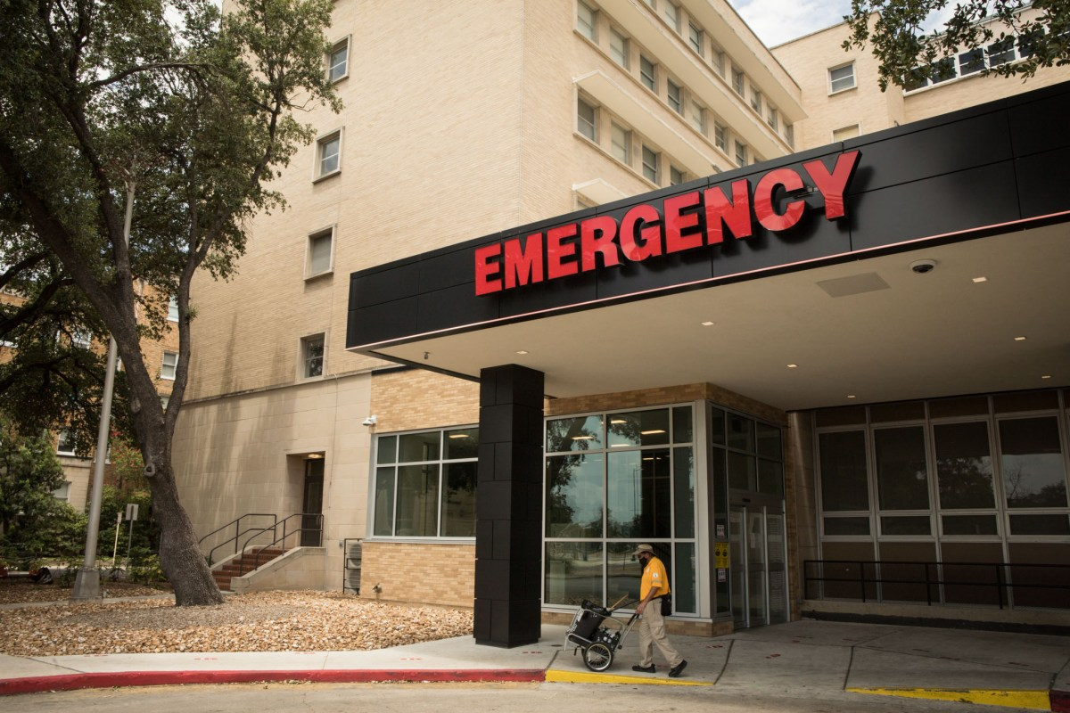 Bexar County is seeing a record number of COVID-19 patients in its hospitals.