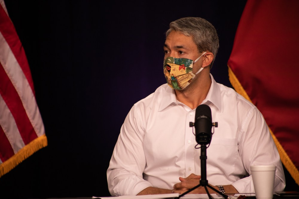 Mayor Nirenberg: 'The velocity of the virus is very concerning right now'