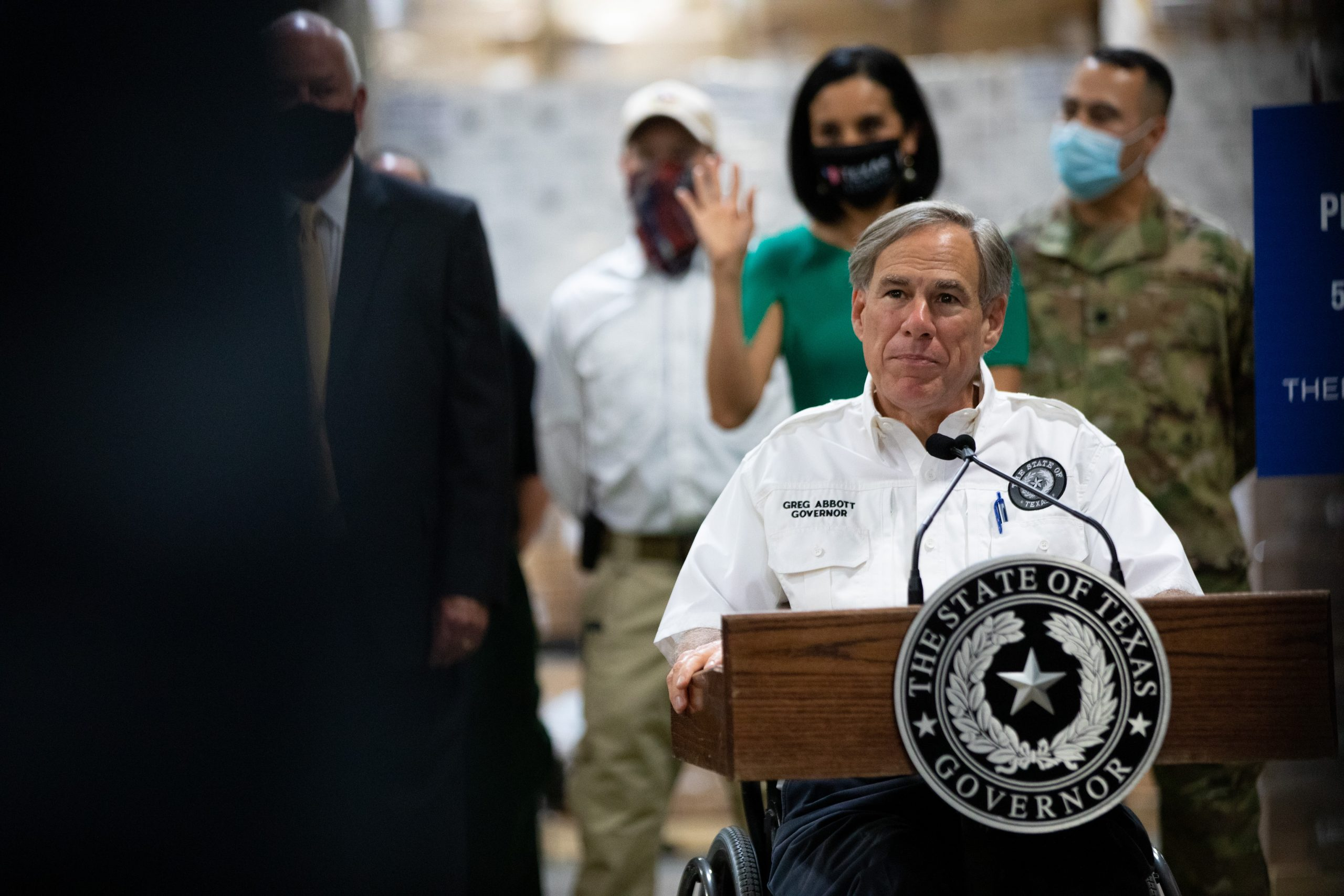 Gov. Greg Abbott maintains hard line against cuts to city police budgets
