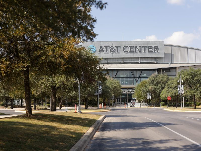 The AT&T Center will become a mega voting site starting on Tuesday for early voting.