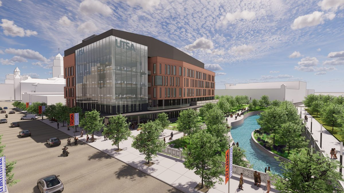 The National Security Collaboration Center is one of several projects the University of Texas at San Antonio and Port San Antonio have collaborated on in recent years.