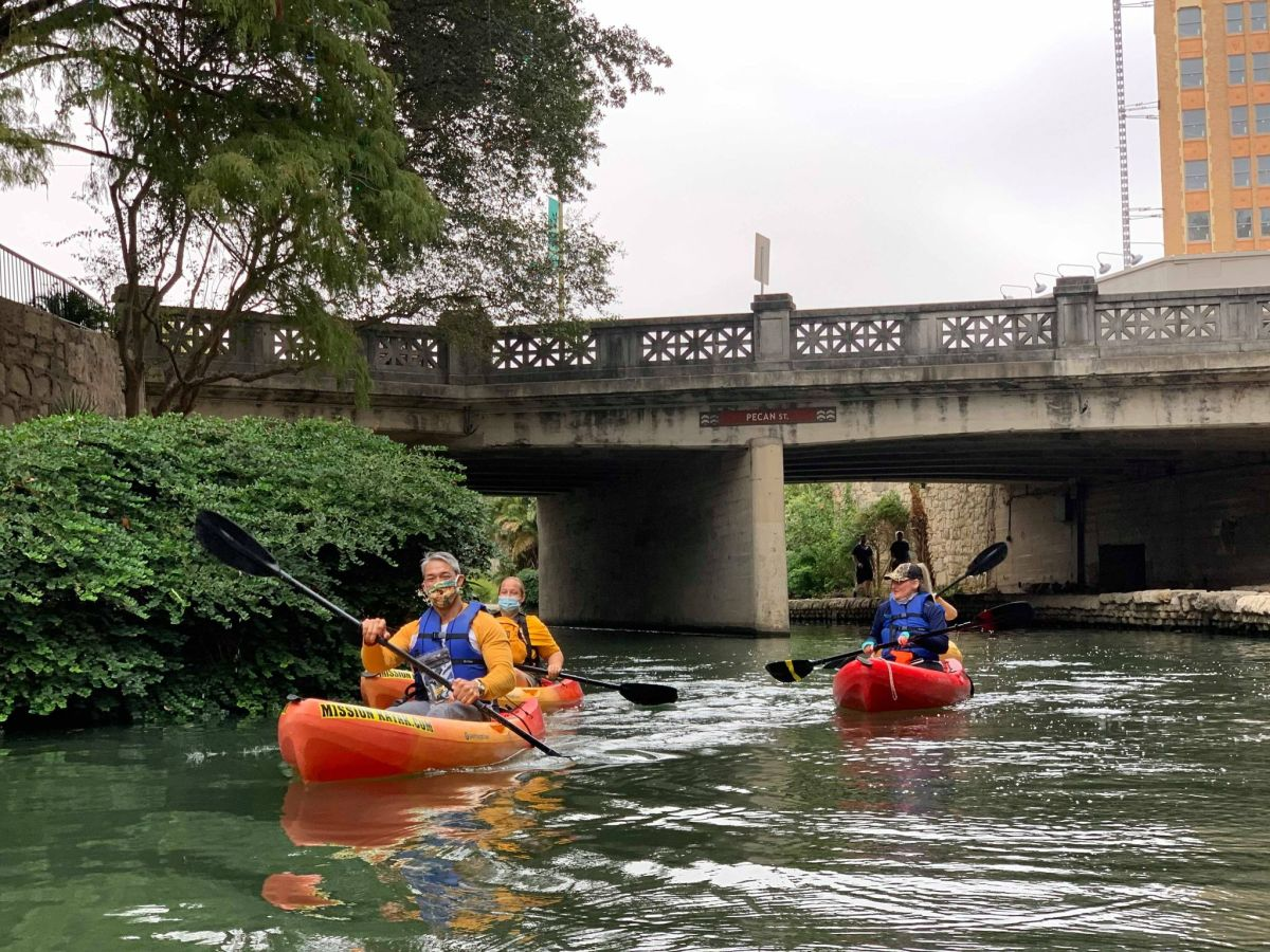 The City of San Antonio, the San Antonio River Authority, and the San Antonio River Walk Association will be extending the River Walk kayaking program.