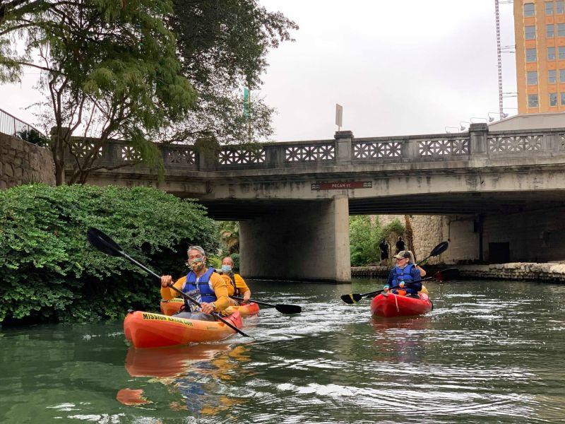 The City of San Antonio, the San Antonio River Authority, and the San Antonio River Walk Association will be extending the River Walk kayaking program.