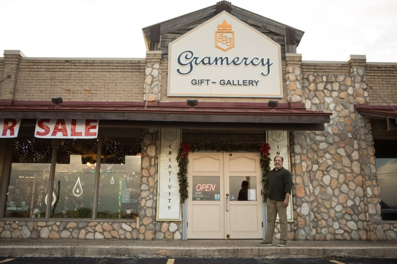 Gramercy Gift Gallery and owner Martin Garcia. Photos taken on January 12, 2021.