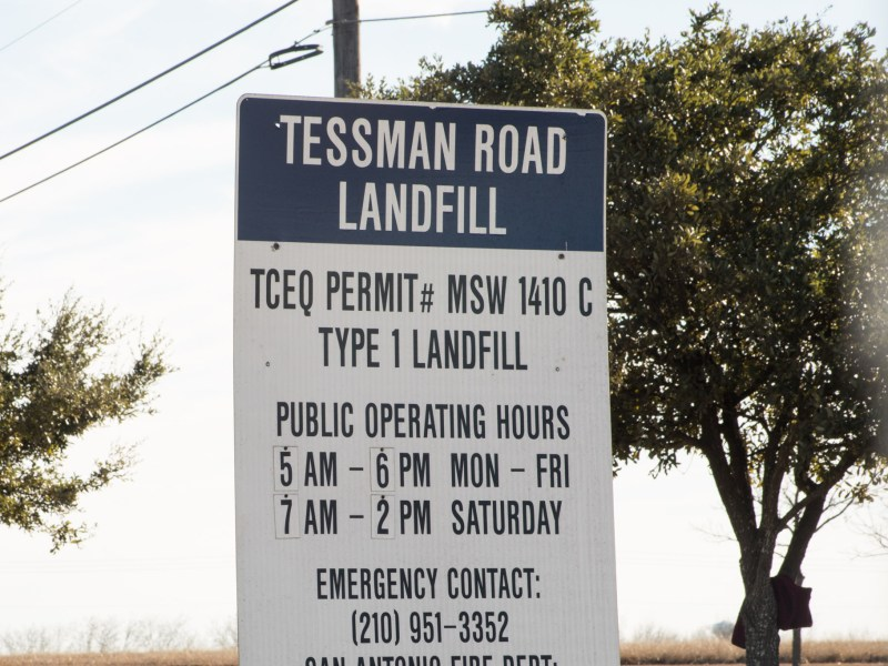 Republic Services Tessman Road Landfill is located at 7000 I-10 East. Photos taken on January 1, 2020.