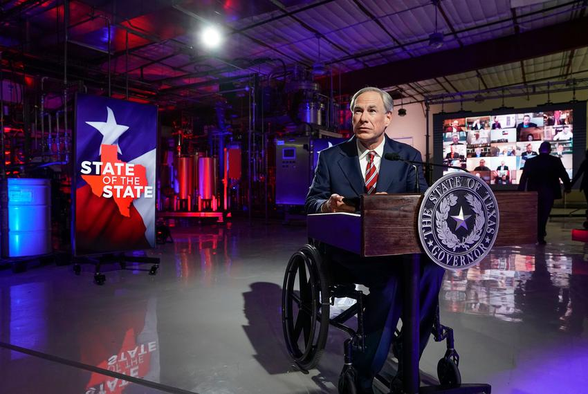 "Gov. Greg Abbott announced five priorities for the legislative session. They included expanding broadband internet access, police funding and ensuring ""election integrity."" Legislators are allowed to pass such emergency items set by the governor much faster than they can pass other legislation."