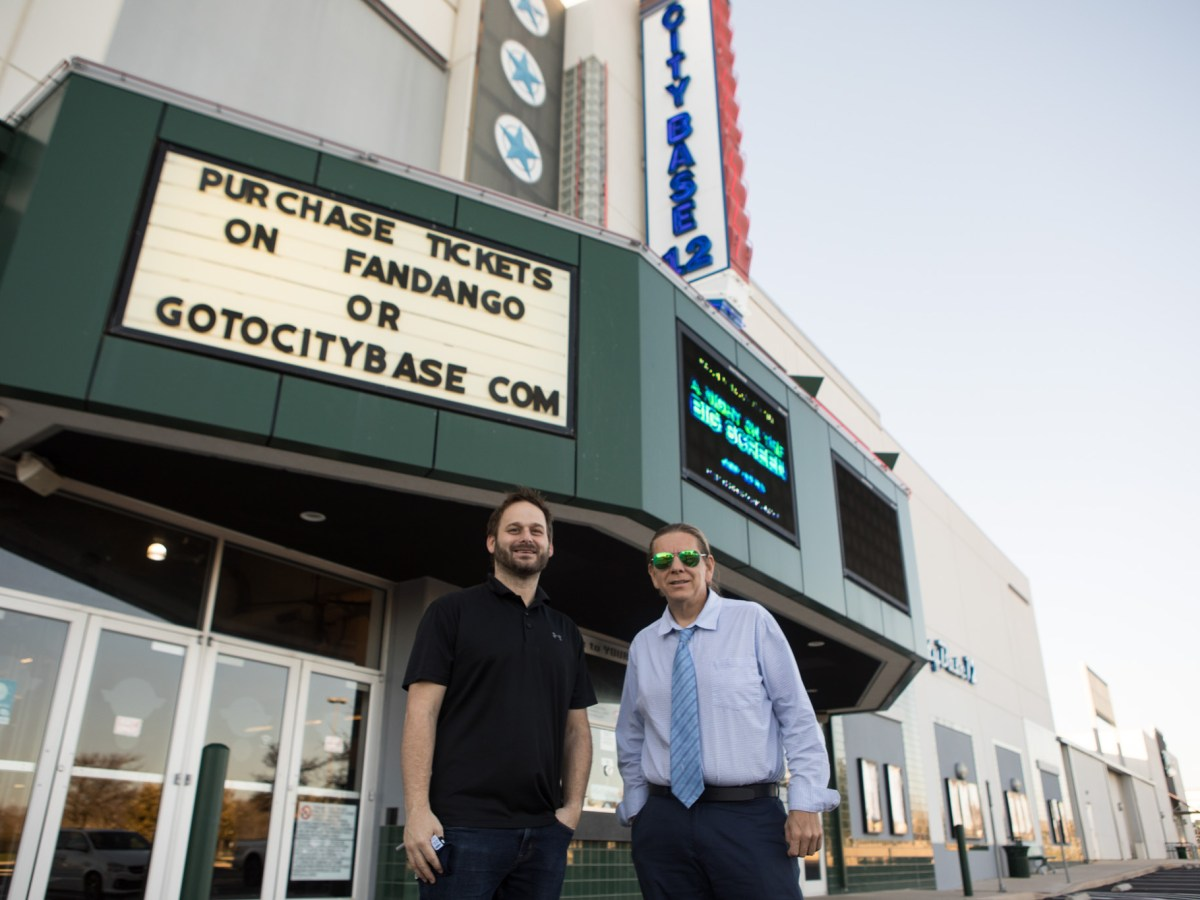 """The """"A Night on the Big Screen"""" film festival at City Base Entertainment in March aims to attract San Antonio filmmakers with the incentive of showing their films in a commercial-grade theater. Photos taken on February 3, 2021."""