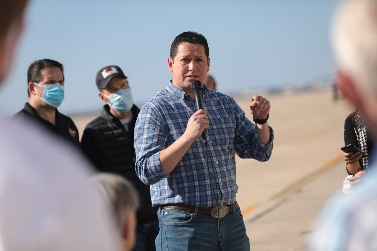 U.S. Rep. Tony Gonzales (R-Helotes) would benefit from redistricting in Texas.